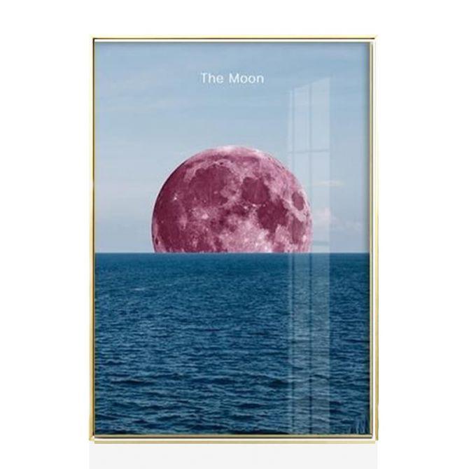 Rectangular lunar posters