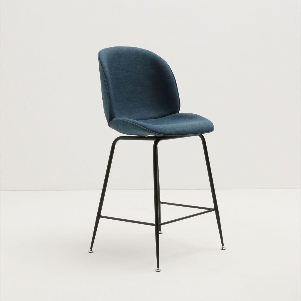 chaise haute beetle gubi reproduction chaise de bar en tissu. Black Bedroom Furniture Sets. Home Design Ideas