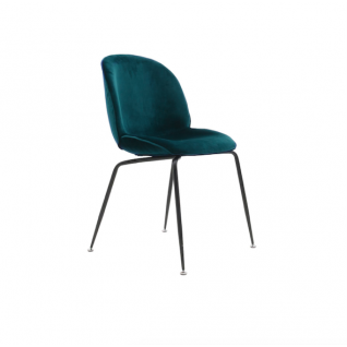 Velvet Bettle stoel - Gubi inspiratie