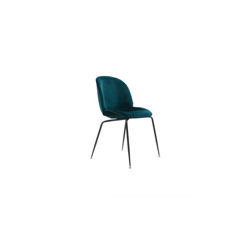 Bettle Chair Velvet Chair Inspiration Gubi
