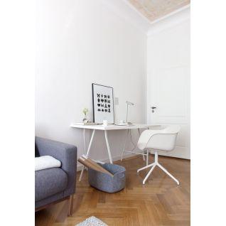 Chaise pivotante Fiber - inspiration Muuto