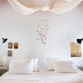 Attrape-rêve tendance - Décoration murale bohème