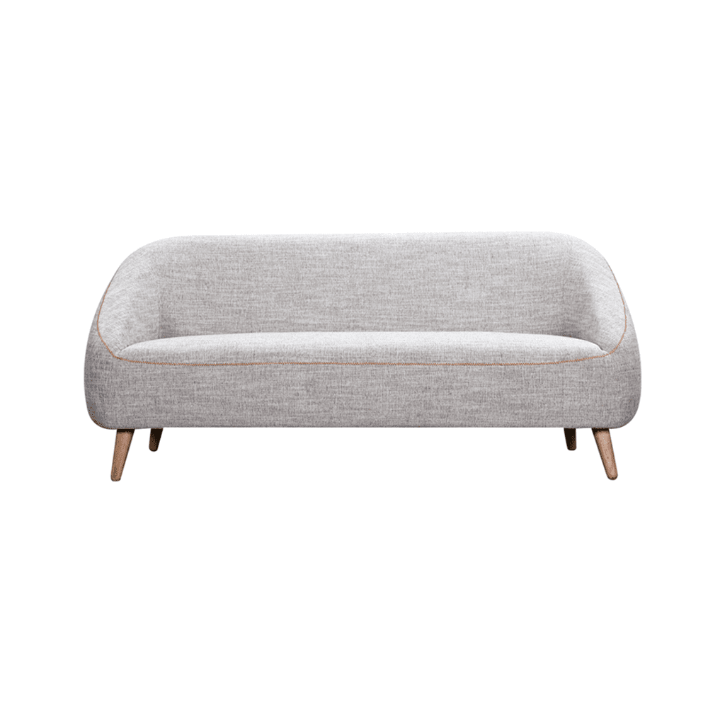 Fabulous Bonnie 3 Seater Sofa Grey Fabric Sofa High Quality Diiiz Machost Co Dining Chair Design Ideas Machostcouk