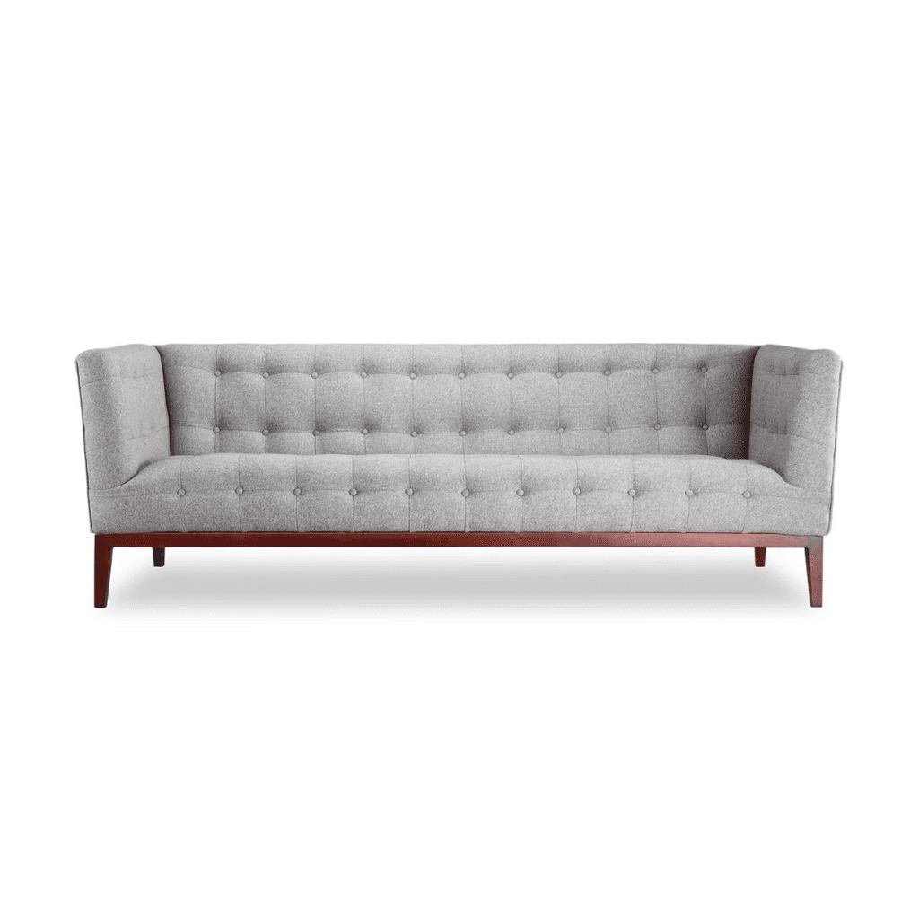 Three-seater fabric sofa Cassie - not expensive - quality - Diiiz
