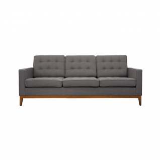 Three-seater fabric sofa Carter