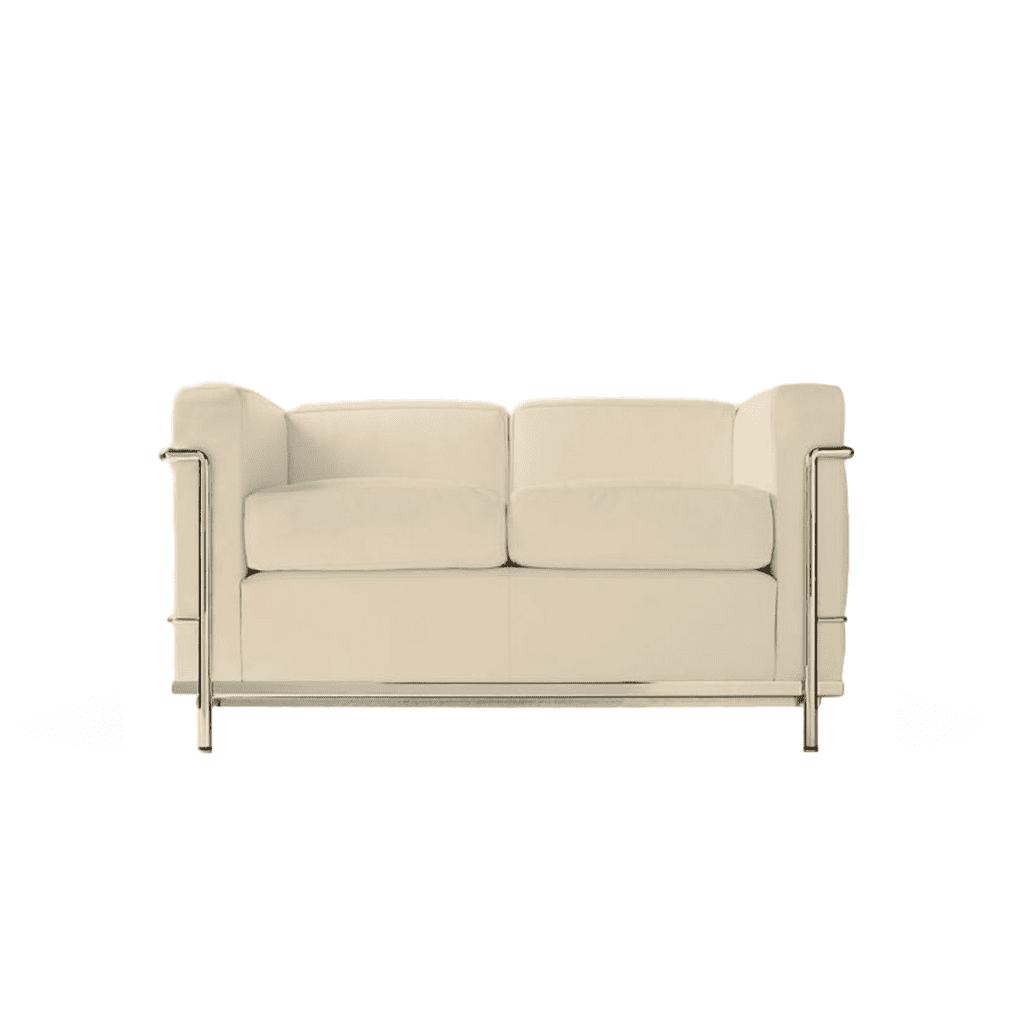 Sofa 2 seater - Quality Reproduction LC2 Le Corbusier - Diiiz