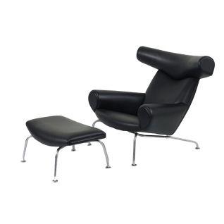 Lounge Zetel OX  - Inspiratie Hans Wegner