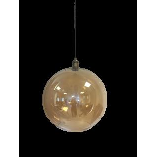 Round Amber Lamp