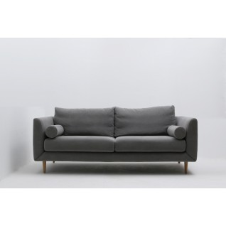 Jones 3-seater fabric sofa
