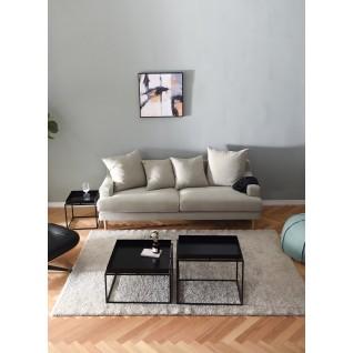 Canapé 3 places en tissu Lena