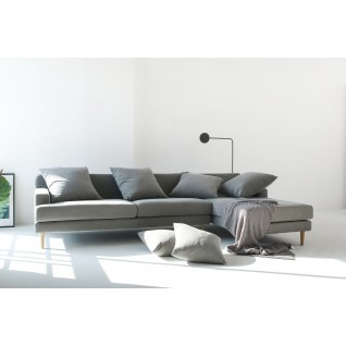 Corner Fabric Sofa Aiden