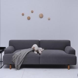 Canapé 3 places en tissu Ashton
