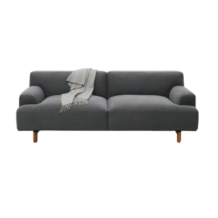 Ashton 3-seater fabric sofa