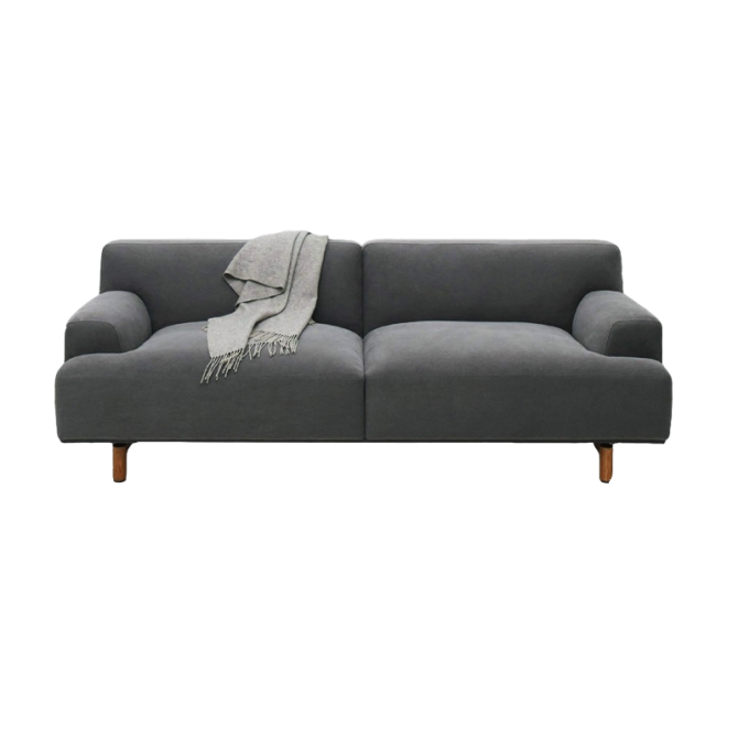 Ashton 3-seater fabric sofa