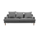 Lena 3-seater fabric sofa