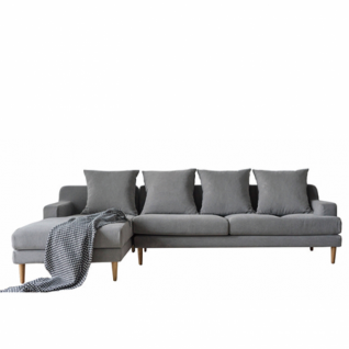 Corner Fabric Sofa Aiden