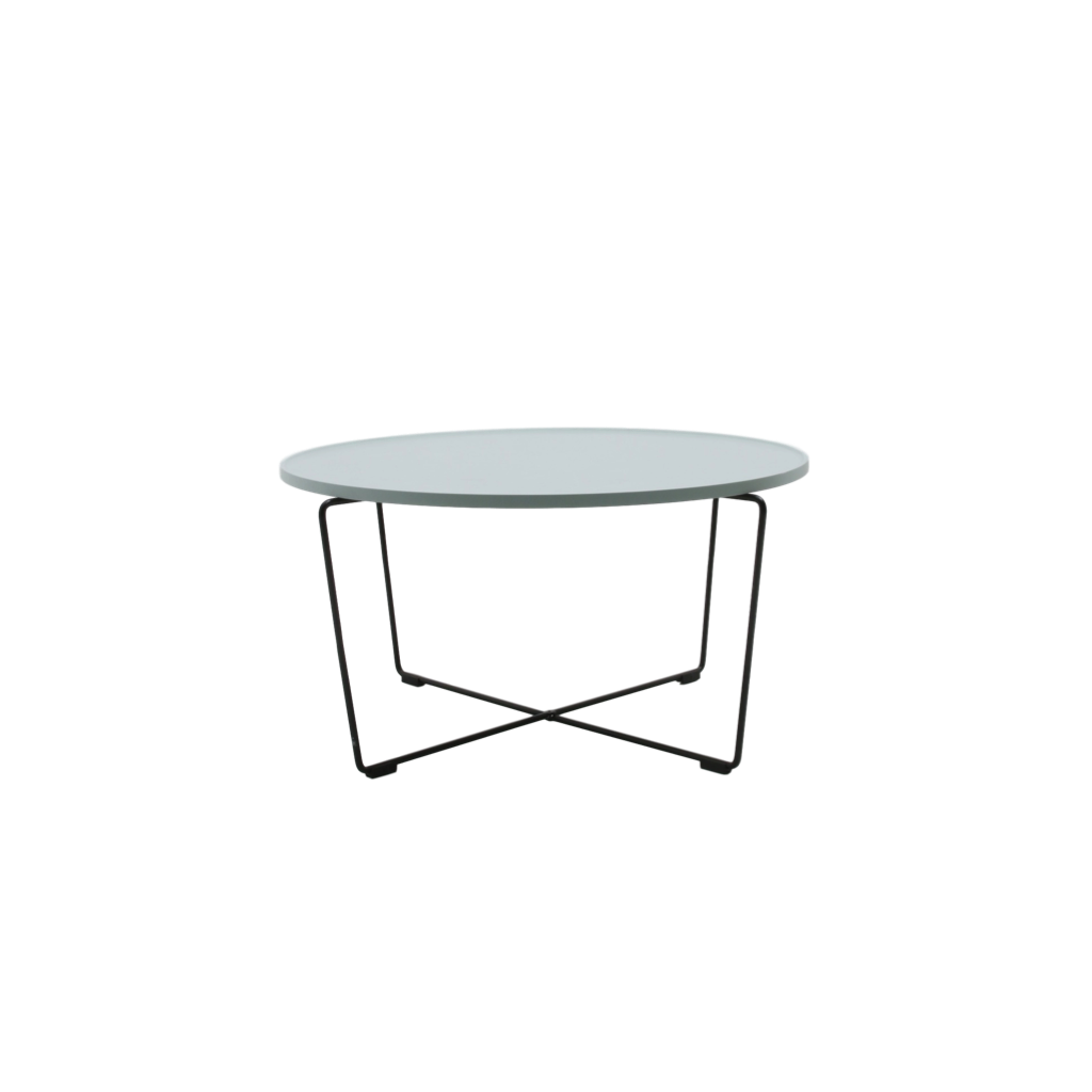 Wooden And Metal Coffee Table Nalani Modern Low Tables