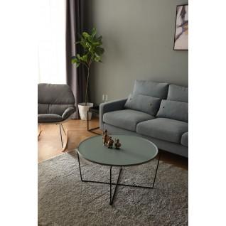 Koffietafel van hout en metaal - Nalani