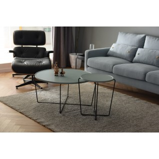 Wooden and metal coffee table - Nalani