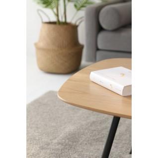 Table basse en bois et métal - Alphonsa