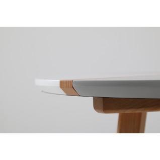 Table basse ronde en bois - Lucina