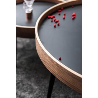 Wooden and metal coffee table - Nalani