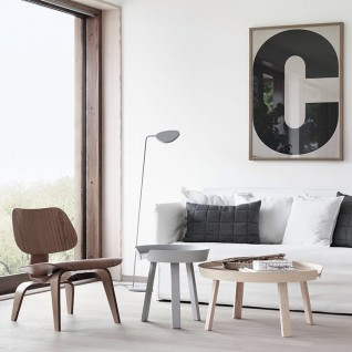 Round Wooden Side Table - Sowa