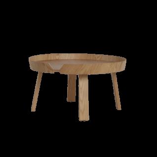 Ronde bijzettafel van hout - Zola