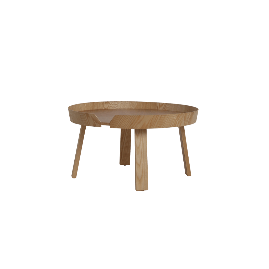 Wooden And Metal Coffee Table Sowa Modern Side Table