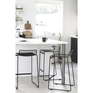 Bar stool Hee metal -  HAY inspiration