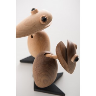 Wooden Bird inspired by Nestnordic