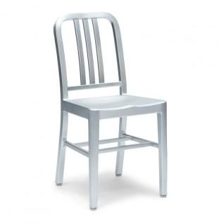 Navy stoel