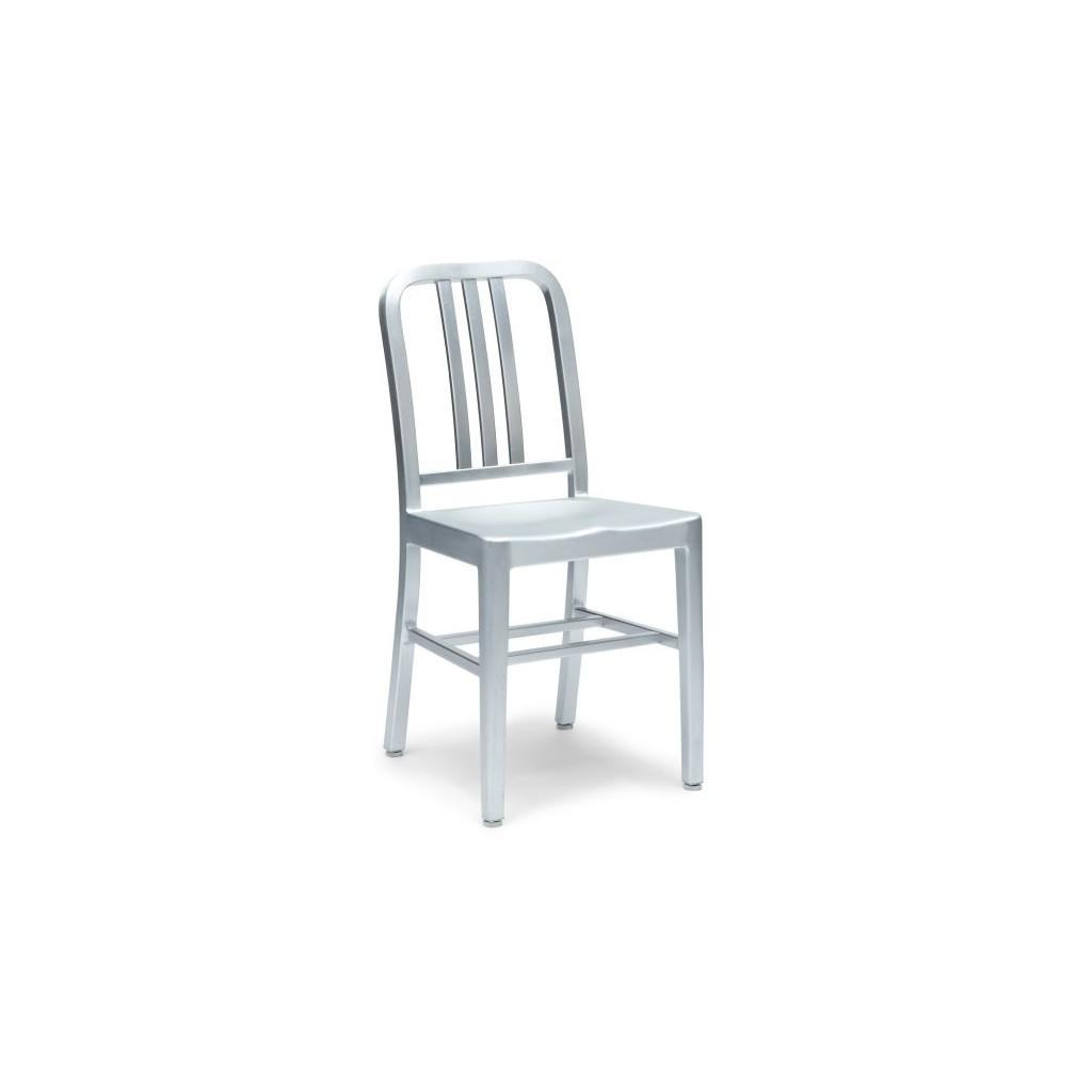 Navy Chair replica - Sturdy metal chair - Emeco - Diiiz