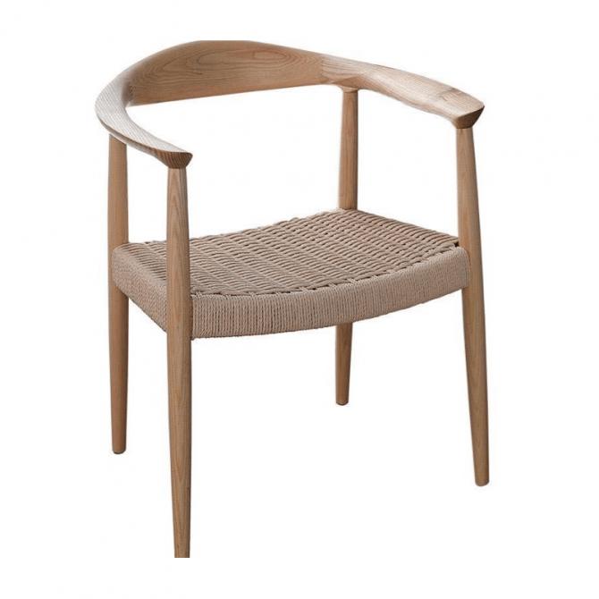 Reproductie Design Stoelen.Houten Stoel Ch23 Reproductie Hans Wegner Kwaliteit Diiiz