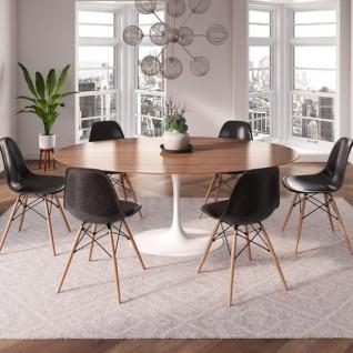 Knoll Tulip Wood Table - Eero Saarinen