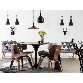 Knoll hout Tulip Tafel - Eero Saarinen