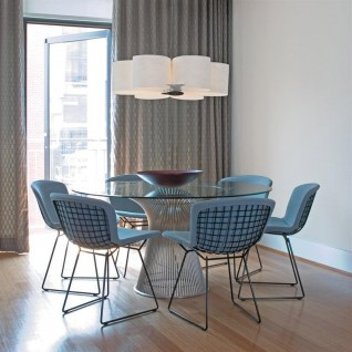 Platner Round Table