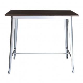Table Haute Tolix - inspiration Xavier Pauchard