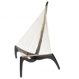 Harp Lounge Chair - Beech wood