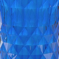 Plastiek - helder blauw EAMES