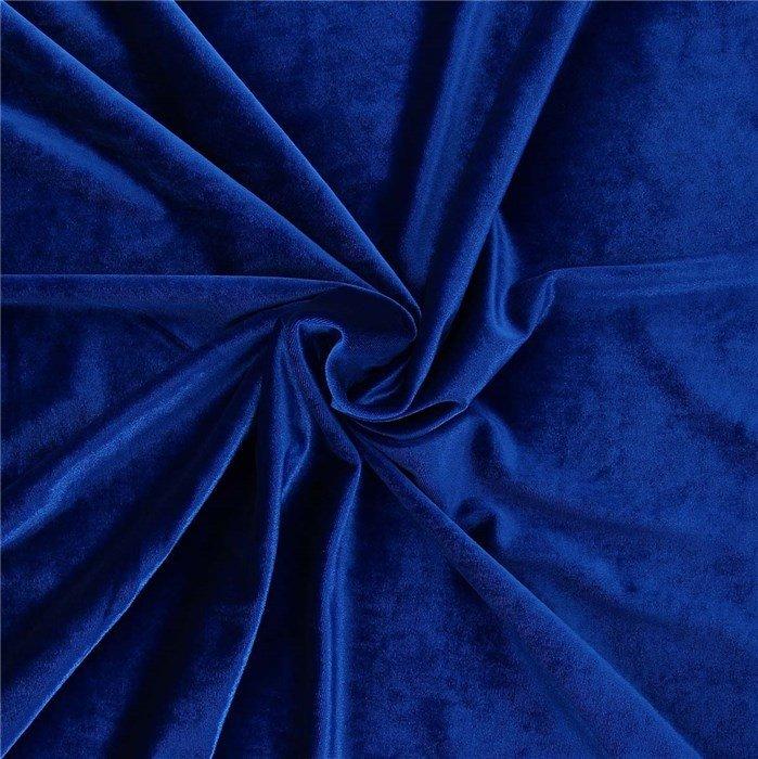 Fluweel - Blauw CC-67
