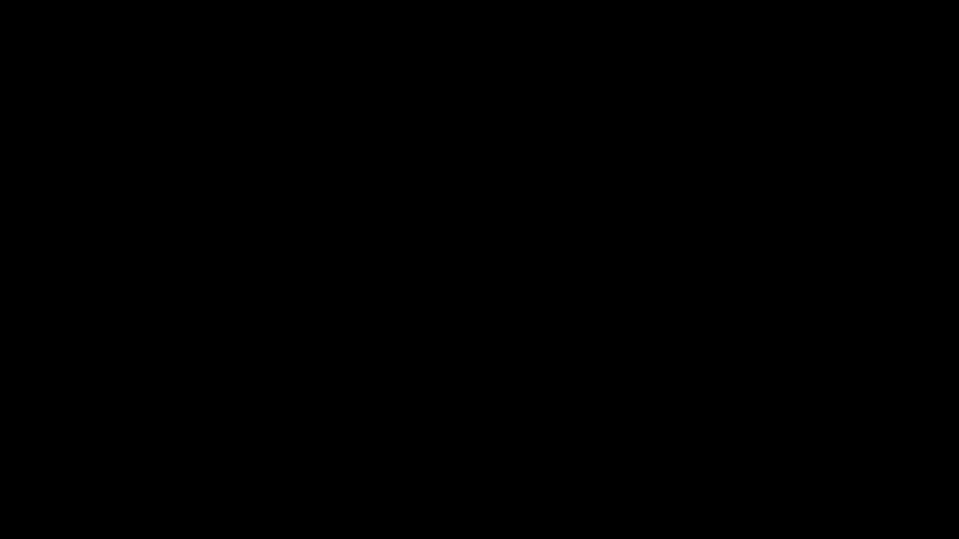 Tissu HAY - Noir / noir